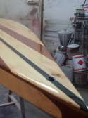 Paddle surf de madera de Paulownia, Wenge y Cedro Real - Modelo Orca 14'