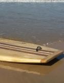 "Bodyboard madera de paulownia 42"""