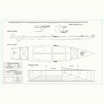 Paddle Surf Desplazamiento Planos de Disposición General