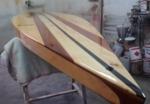Paddle surf de desplazamiento Fabricado en madera