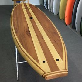 Paddle surf de Madera de Cedro real y samba - Modelo Dolphin 9,6